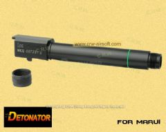 Detonator Aluminium CNC Threaded Outer Barrel for Marui HK45